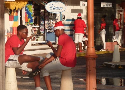 Père Noël, Sainte-Anne, Martinique